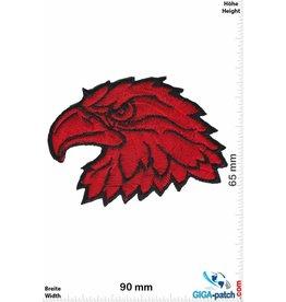 Adler Eagle - Eagle head  - red
