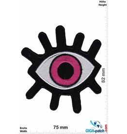 Magic Eyes Magisches Auge pink- Magic Eyes - Fun
