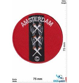Holland, Netherland Amsterdam - rot