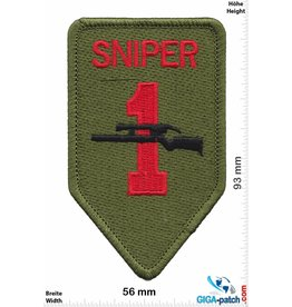 Air Force Sniper 1 - US Army 1st Infantry Division Sniper -HQ