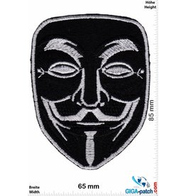 Anonymous Anonymous Mask - Maske  - black