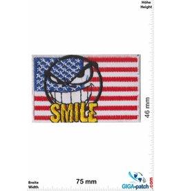 USA, USA USA  - Flagge Amerika - Smile