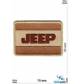 Jeep Jeep - braun