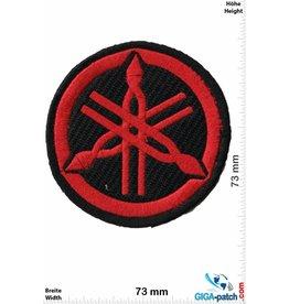 Yamaha Yamaha - Logo - schwarz rot