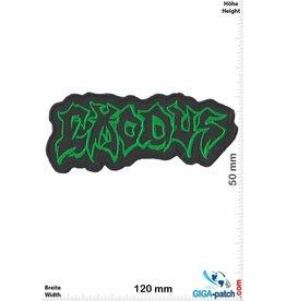 Exodous Exodous - grün - Thrash-Metal-Band