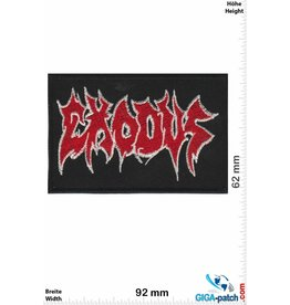 Exodous Exodous - red silver- Thrash-Metal-Band