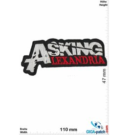 Asking Alexandria  Asking Alexandria - silber rot