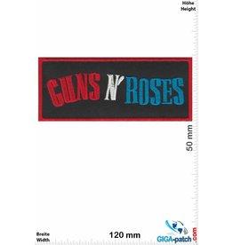 Guns n Roses Guns n' Roses - rot silber blau