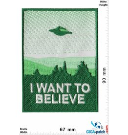Alien I want to believe - UFO - Alien