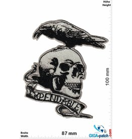 King Expendable - Skull with bird