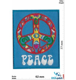Frieden Peace - blue