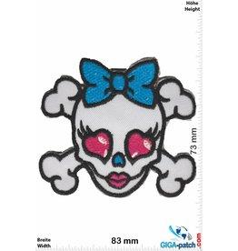 Totenkopf Skull - Lady - Oldschool