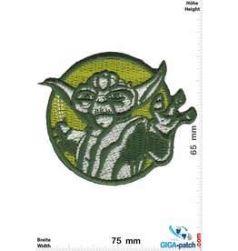 Star Wars Starwars - Yoda - round