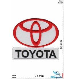 Toyota Toyota - weiss rot  schwarz