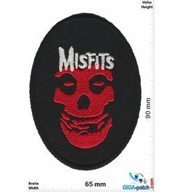 Misfit Misfits - Skull - red