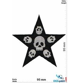 Totenkopf Skull -Star