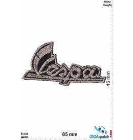 Vespa Vespa -Schrift - silbergold - Roller - Scooter