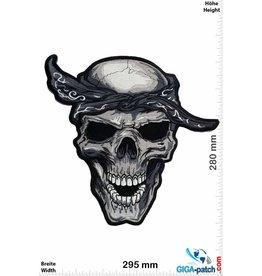 Biker Biker Totenkopf - Skull -   30 cm - BIG