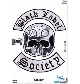 Biker Black Label Scoiety  - 4 Piece -  36 cm - BIG