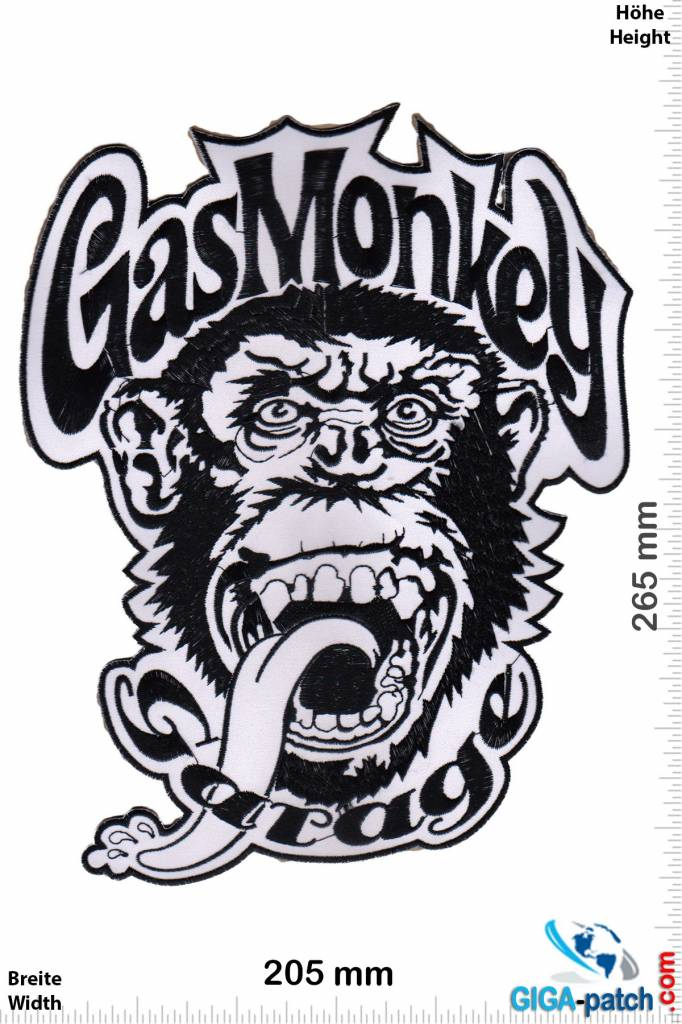 Gas Monkey Garage Patch Back Patches Patch Keychains
