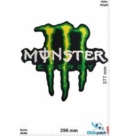 Monster Energy Monster Energy - grün - 30 cm - BIG