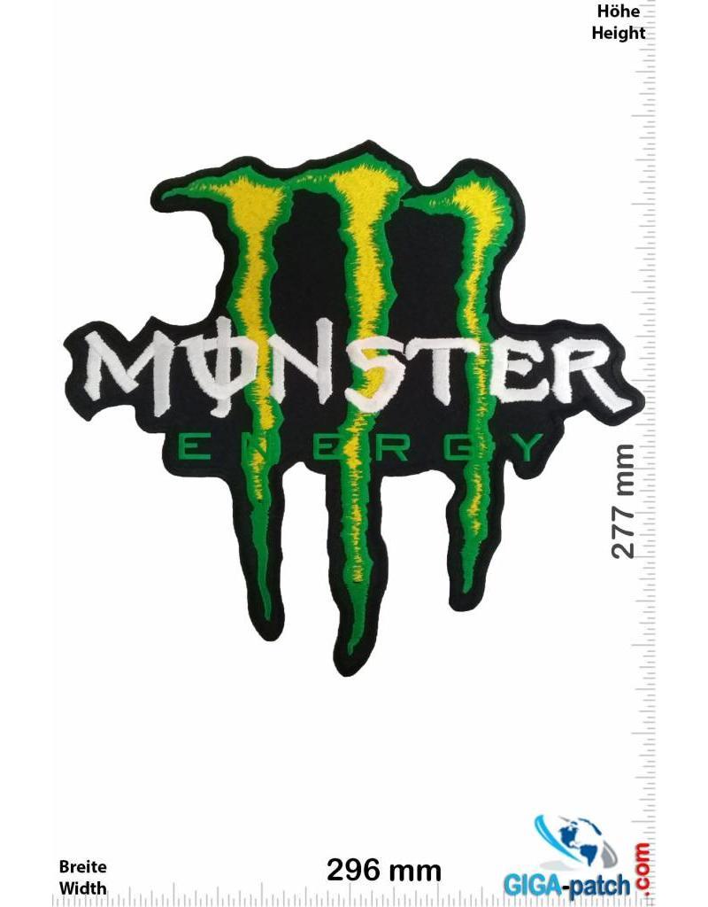 monster energy monster energy gr n 30 cm big