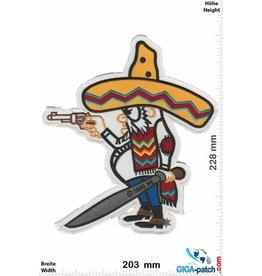 Bandidos Bandidos - Bandit - Mexicans-  23 cm - BIG