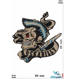 Rock n Roll Rockabilly -Skull - Oldschool