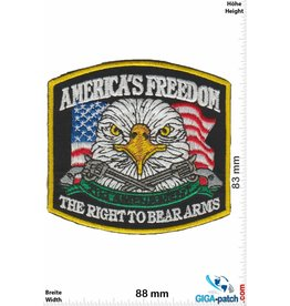 Waffen America's Freedom - The right to bear Arms - HQ