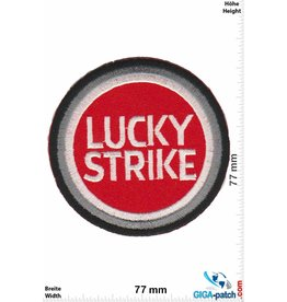 Lucky Strike Lucky Strike - round silver