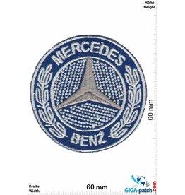Mercedes Benz Mercedes Benz  -blau silber - small