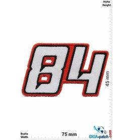 84 84 - Startnummer