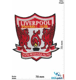 FC Liverpool  FC Liverpool - rot - You'll never walk alone - HQ - The rots - Football Club - Uk Soccer - Fußball