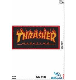 Thrasher Thrasher Magazine -  red Flame - Skater - HQ
