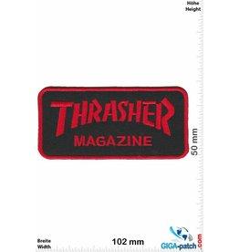 Thrasher Thrasher Magazine - red black - small