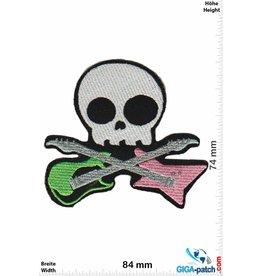 Guitar Skull - Guitar - Totenkopf