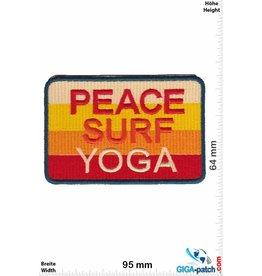 Frieden Peace - Surf - Yoga