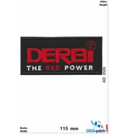 DERBI  DERBI - The red Power