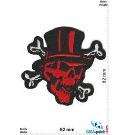 Totenkopf Totenkopf - Pirat mit Zylinder
