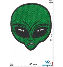 Alien Alien Head- green