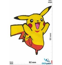 Pikachu  Pikachu - Pokémon - happy
