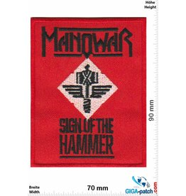 Manowar Manowar - Sign of the Hammer