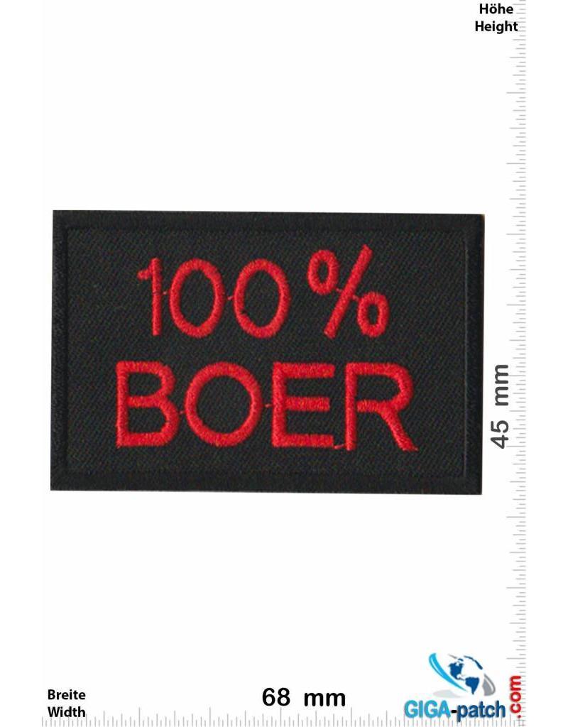 Sprüche, Claims 100% Boer