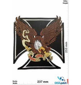 Adler Adler - Eagle - Cross - Ride Free  - 25 cm - BIG
