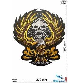 Adler Adler - Eagle - Skull - 25 cm - BIG