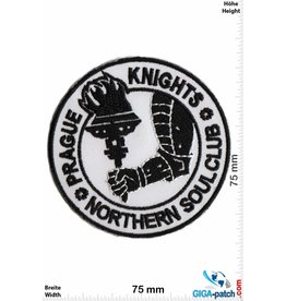 Northerm Soul Northern Soul Club - Prague Knights - black white round