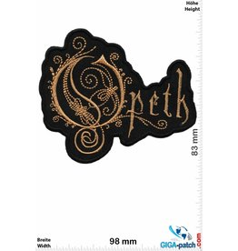 Opeth Opeth  - Metal-Band - gold