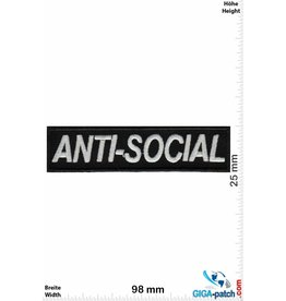 Sprüche, Claims Anti-Social
