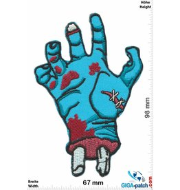 Zombie Zombie Hand - blue
