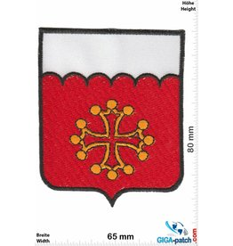 Historical  rot weiss - goldenes Kreuz